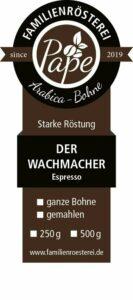 Kleine Kaffee-Geschenkbox braun (3 x 120g)