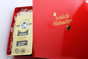 Große Kaffee-Geschenkbox (3x 250g) rot