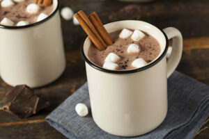 Mallow Bombs, Kakaokugeln gefüllt mit Marshmallows zum Auflösen in heißer Milch / Kaffee