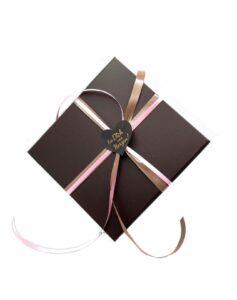 20er Pralinen Geschenkpackung, bunter Mix (mit Alkohol)